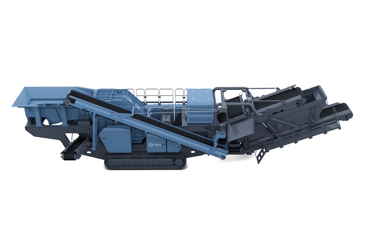 韶瑞重工i-1213i-1213移动反击式破碎设备高清图 - 外观