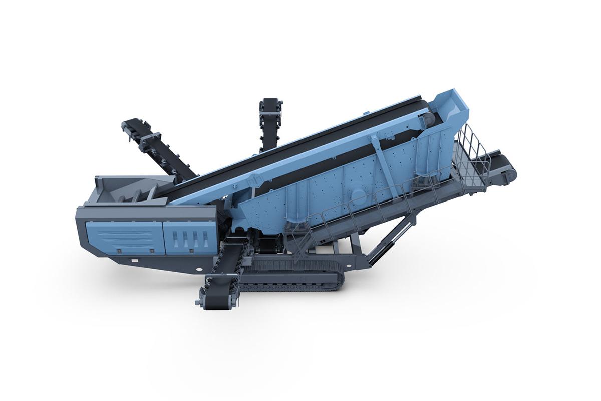 韶瑞重工s-6018移动式筛分设备高清图 - 外观