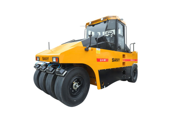 三一重工SPR260C-8S26吨轮胎压路机(前五后六、前四后五)