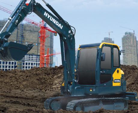 现代重工HX60N挖掘机