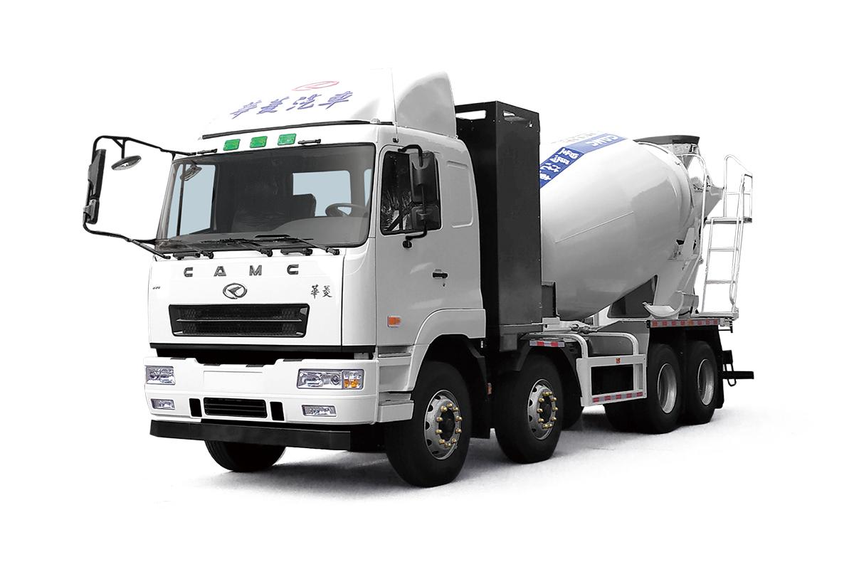 星马HN5311GJBB36C5BEV纯电动混凝土搅拌运输车高清图 - 外观