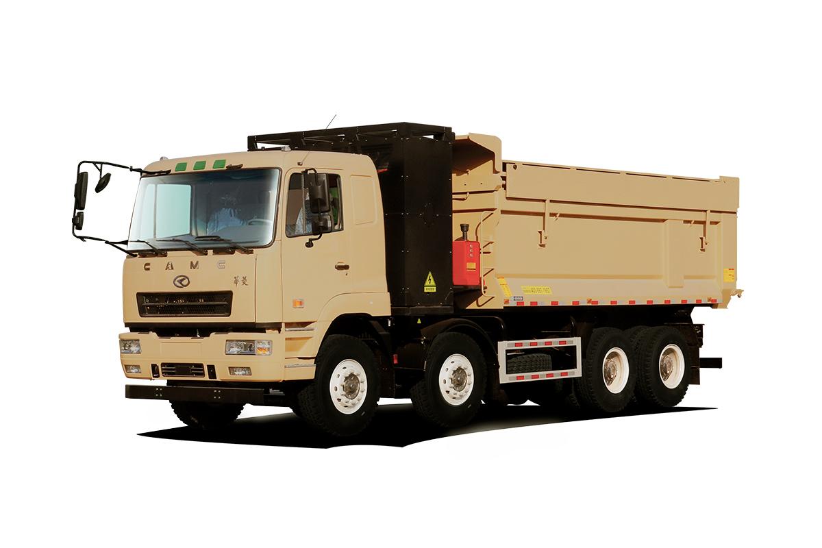 星馬HN3312B36C2BEV純電動自卸汽車高清圖 - 外觀