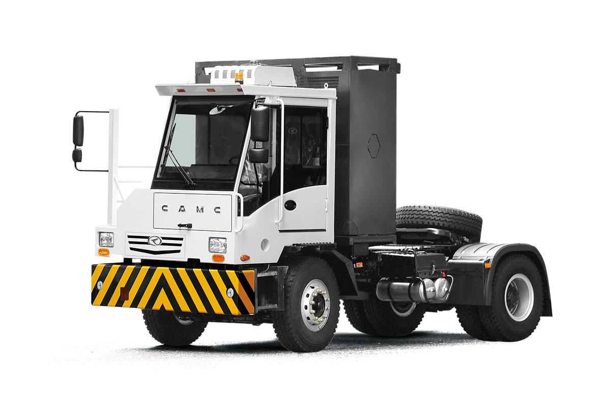 星馬HN4180D20C8BEV純電動自卸汽車高清圖 - 外觀