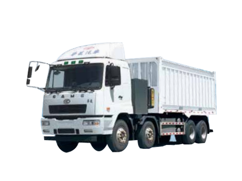 星馬HN3310B36C5BEV純電動自卸汽車高清圖 - 外觀