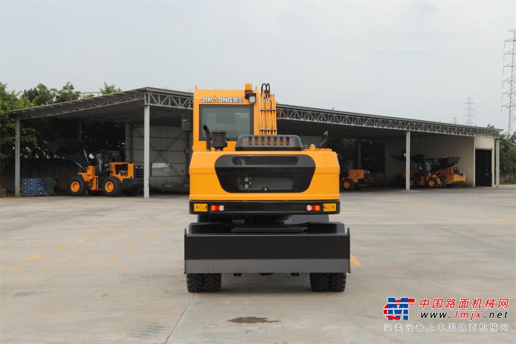 晋工JGM9075LN-10轮式挖掘机高清图 - 外观