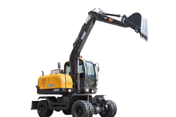 劲工JG80S轮式挖掘机