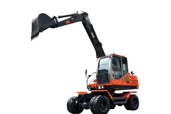 勁工JG75S輪式挖掘機