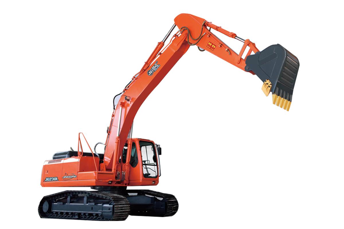 劲工JG230L履带式挖掘机高清图 - 外观