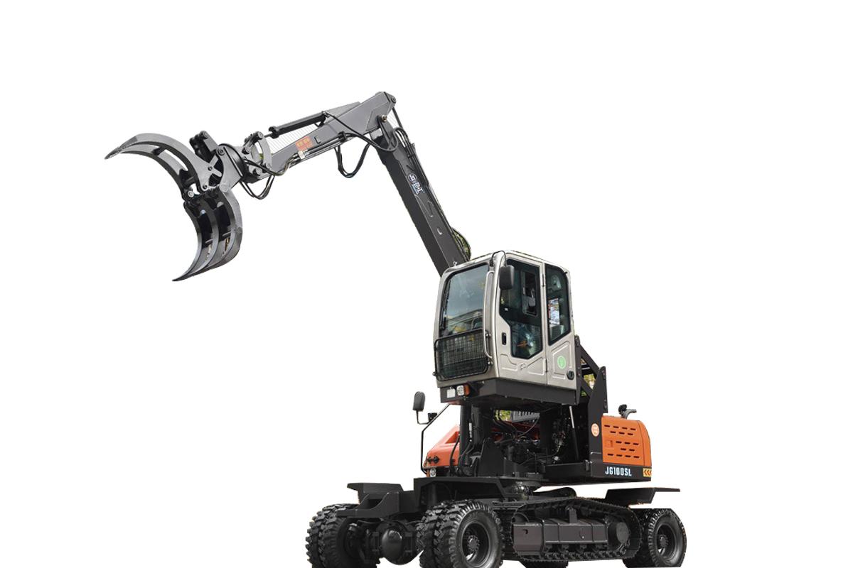劲工JG100SL轮履挖拾装机高清图 - 外观