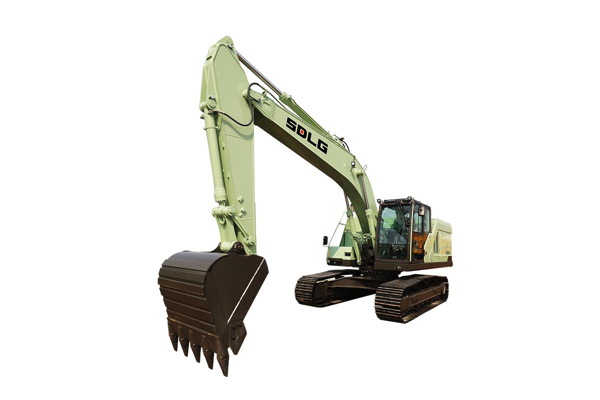山东临工E6225H EV电动挖掘机高清图 - 外观