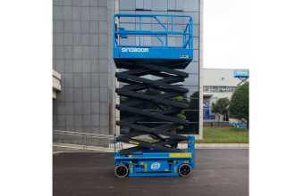 星邦重工GTJZ1212剪叉高空作业平台高清图 - 外观