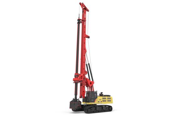 三一重工SR235-W10旋挖钻机