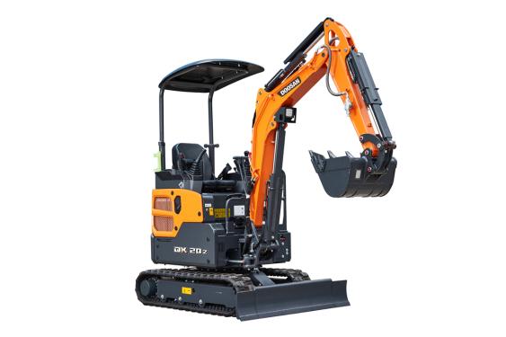 斗山DX20Z挖掘机