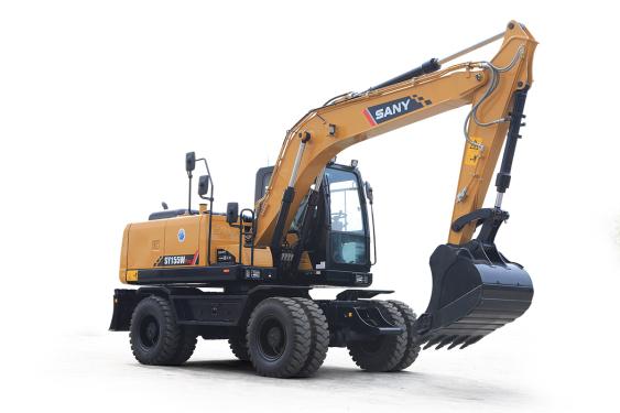 三一重工SY155W Pro小型挖掘机