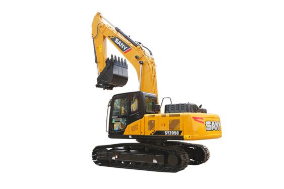 三一重工SY205DPC中型挖掘机