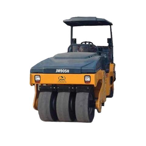 骏马JM905H轮胎压路机高清图 - 外观