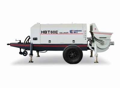 柳工HBT60E混凝土输送泵高清图 - 外观