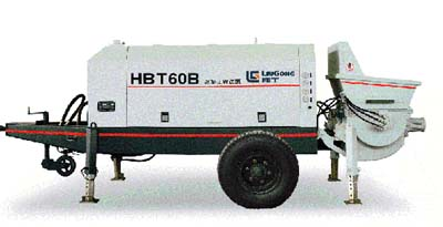 柳工HBT60B拖泵高清图 - 外观