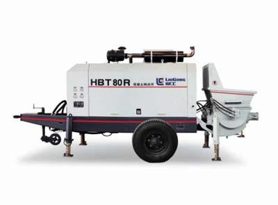 柳工HBT80R拖泵高清图 - 外观