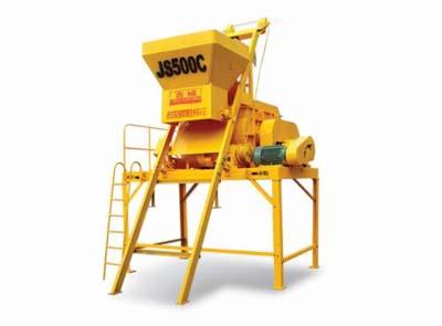 柳工JS500C混凝土搅拌机高清图 - 外观