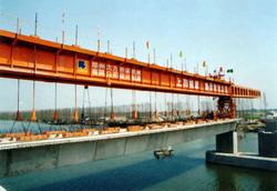 大方P600阶段拼装型架桥机高清图 - 外观