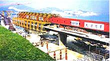 大方DZ42/1000T型上行式造桥机