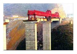 大方DF40/100型架桥机高清图 - 外观
