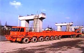 大方DZY300型组合式全液压运梁车