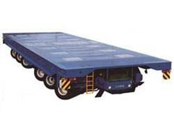 大方DCY250型动力平板运输车高清图 - 外观