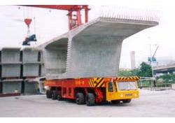 大方DCY125型动力平板运输车高清图 - 外观