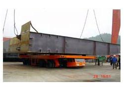 大方DCY100型动力平板运输车高清图 - 外观