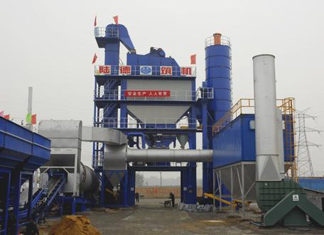 陆德LBQ4000型沥青搅拌设备