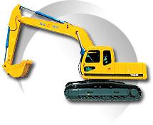 移山YS220履带式挖掘机高清图 - 外观