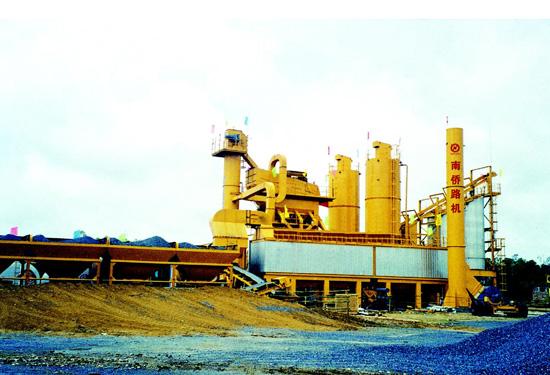 南侨QLB4000型环保节能型沥青搅拌设备高清图 - 外观