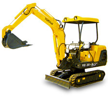 玉柴YC20-8挖掘機