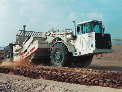 内蒙古北方重工TS14G多功能铲运机