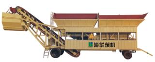 海华筑机YWB系列移动式稳定土搅拌设备