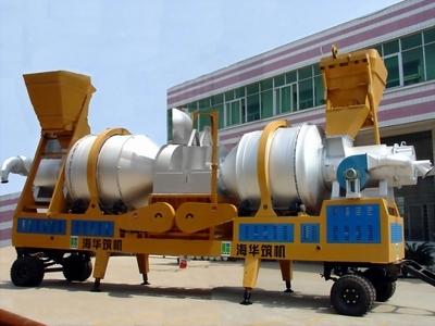 海华筑机YQLZZ沥青混合料热再生搅拌设备