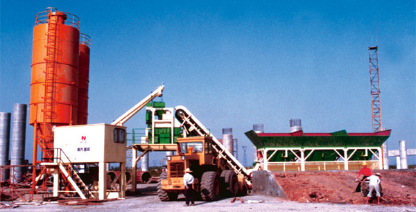 南方路机YHZS系列移动式混凝土搅拌站