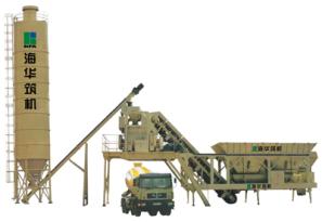 海华筑机YHZ系列移动式水泥混凝土搅拌设备