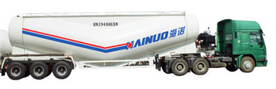 海诺HNJ9400GSN散装水泥车高清图 - 外观