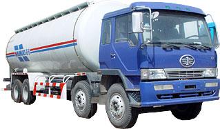 海诺HNJ5310GSN解放散装水泥运输车高清图 - 外观