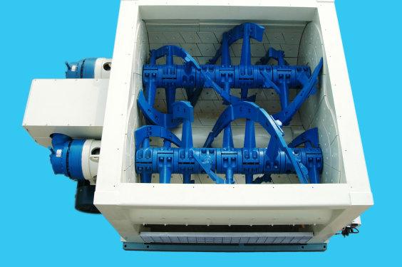 方圆JS2000B双螺旋混凝土搅拌机
