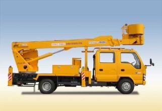 杭州爱知HYL5076JGK伸缩臂式高空作业车高清图 - 外观