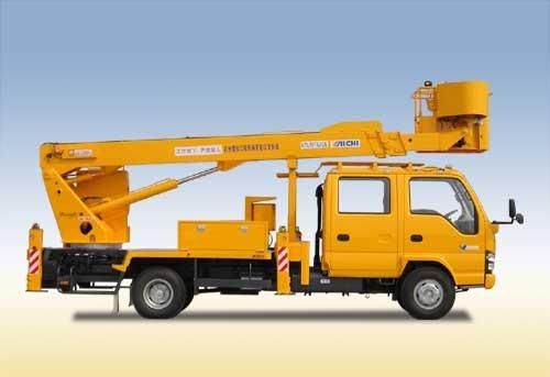 杭州爱知HYL5076JGK伸缩臂式高空作业车
