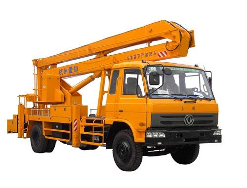 杭州爱知HYL5121JGKA混合式高空作业车高清图 - 外观