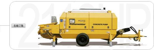 普茨迈斯特BSA2110HD拖泵高清图 - 外观