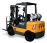 上力重工2-3吨液化石油气平衡重式叉车高清图 - 外观