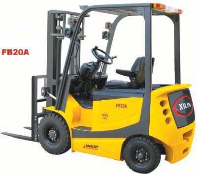 西林FB20A电动叉车高清图 - 外观