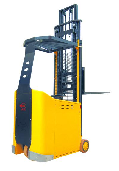 西林CPD10AC/CPD10BC/CPD10BZ电动平衡重式叉车高清图 - 外观